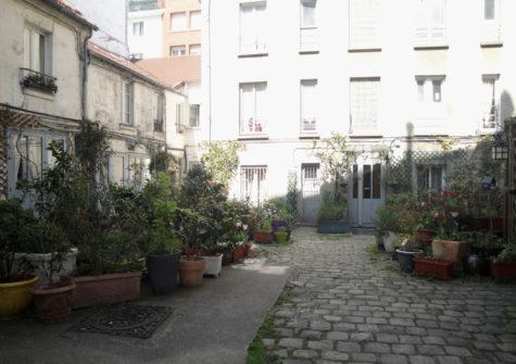 Studio loué rue Doudeauville (75018)