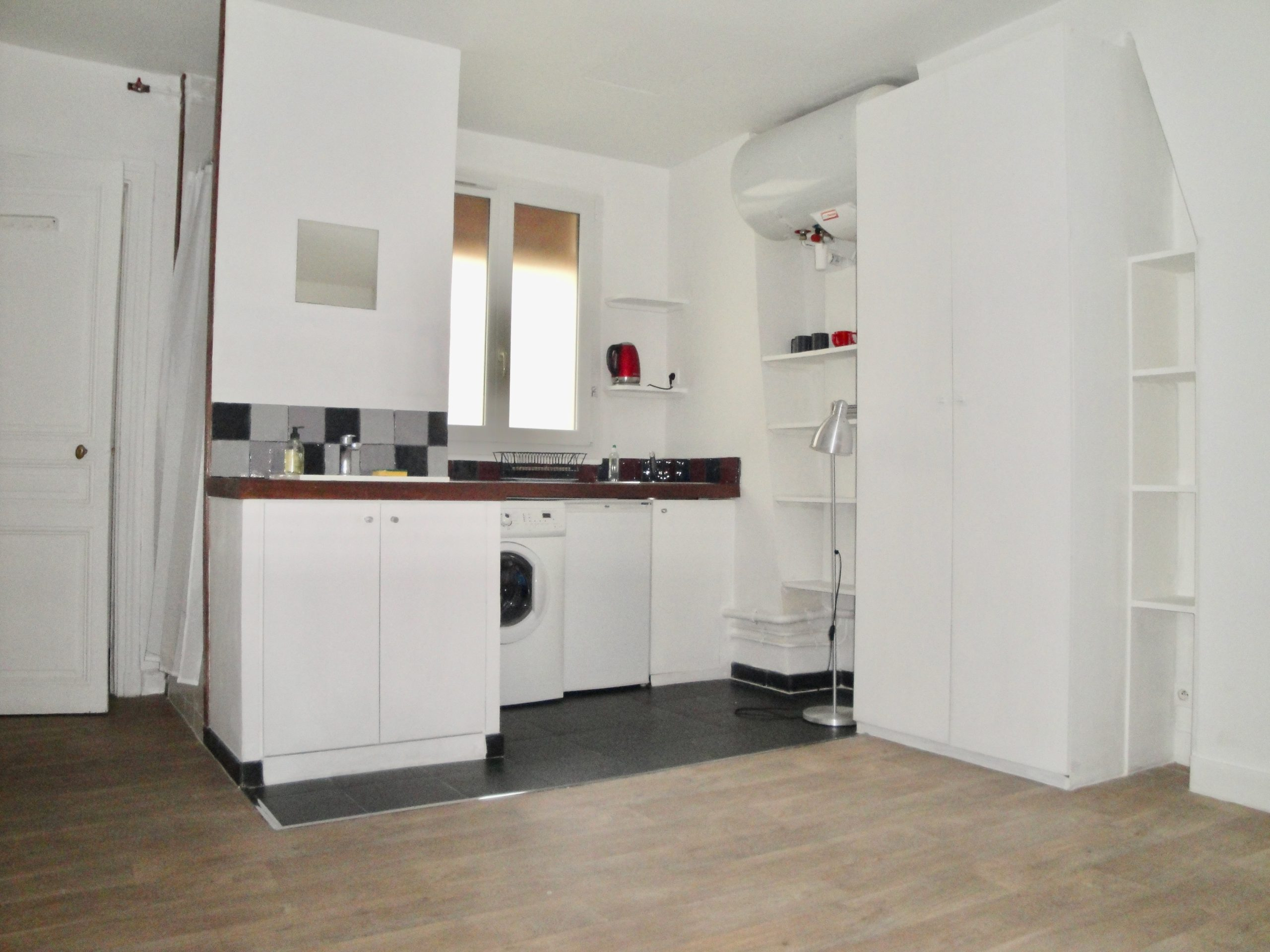 Studio rue de Suez (75018)