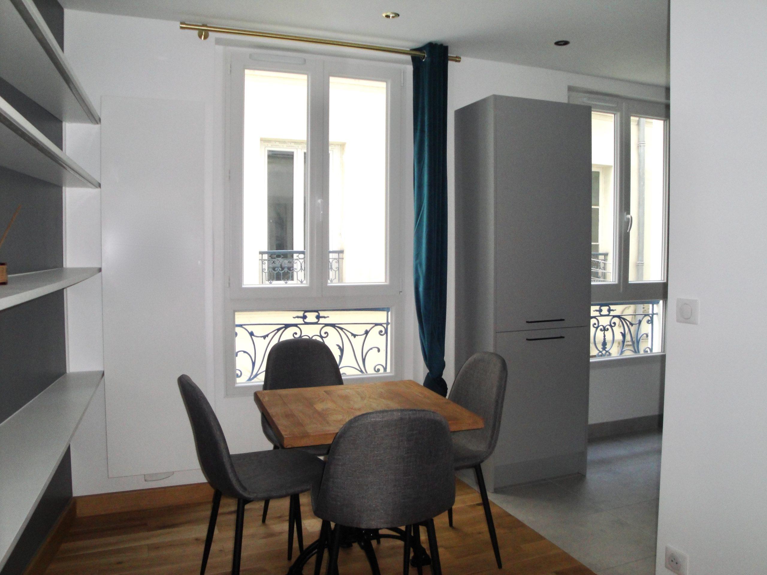 Studio rue Doudeauville (75018)