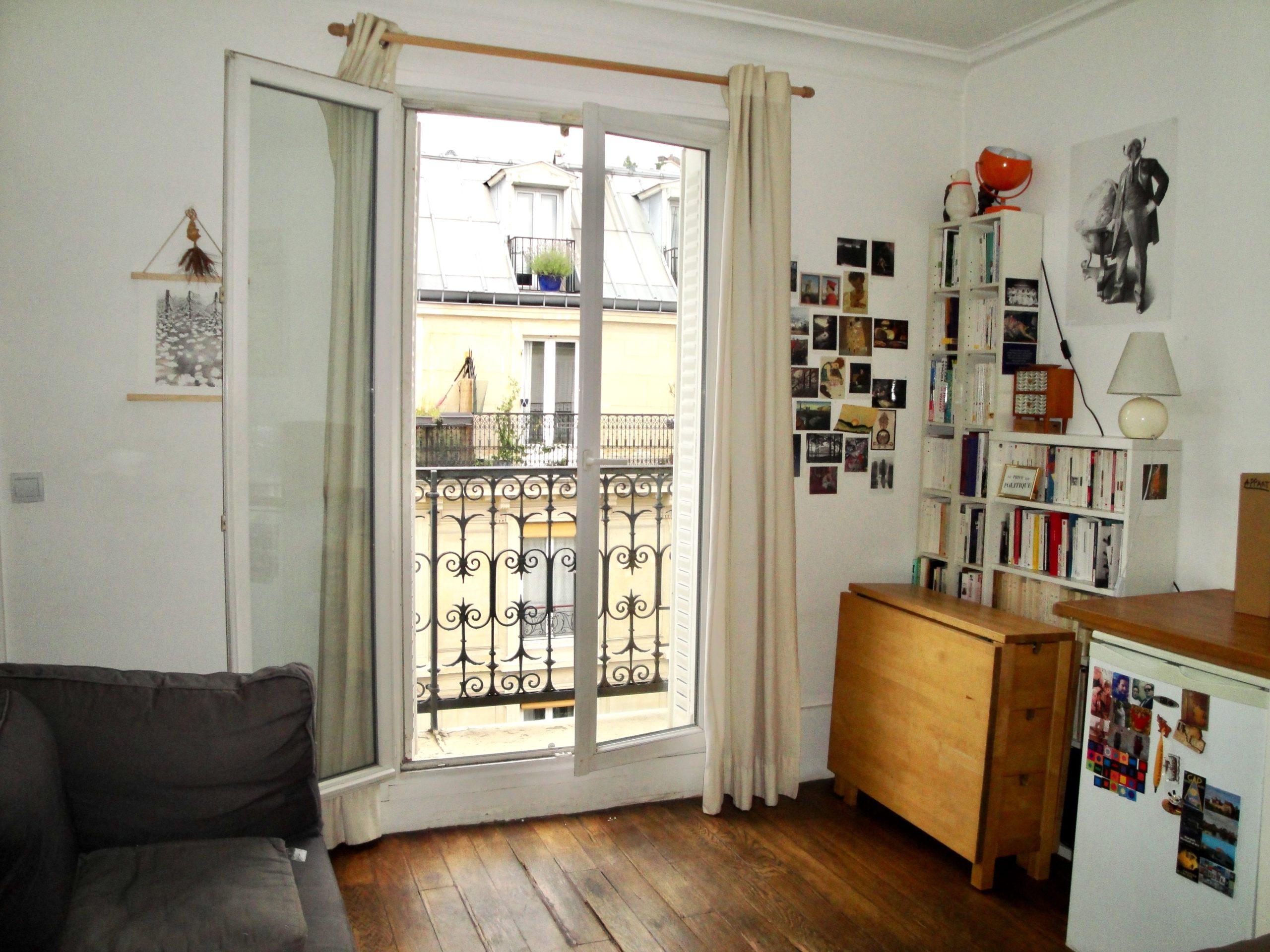 2 pièces rue Poulet (75018)