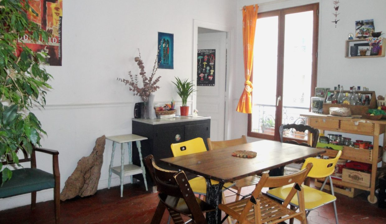 A vendre rue Marcadet salon