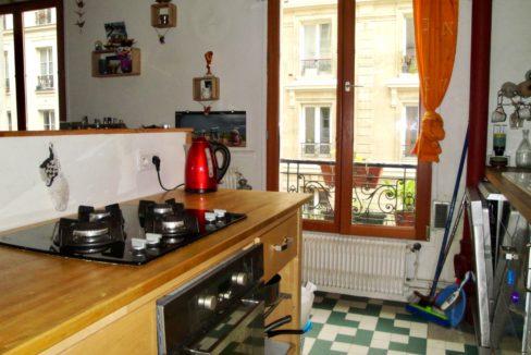 A vendre rue Marcadet cuisine